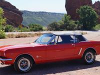 1964   Mustang Convertible , Yes, this is the rare one