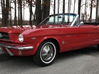 This is a rare original numbers matching Ford Mustang