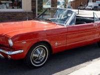 The 1964 Mustang has differences that establish it