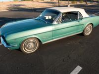 1964 Ford Mustang Convertible. 1964 1/2 Ford Mustang