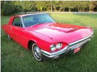Beautiful 1964 Ford Thunderbird Restored 3 years ago.