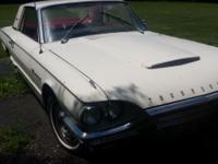 1964 Thunderbird 390 auto ps,pb 52,000 miles, project