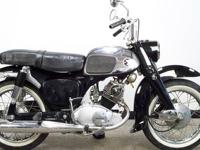 1964 Honda CA95 150 Benly Touring ?Baby Dream? Here we