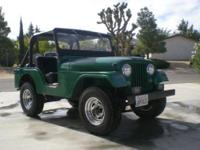 Up for sale is my 1964 CJ 5 4X4 Jeep. Have invested