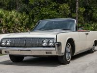 1964 Lincoln Continental Base 7.0L Convertible U/K. The