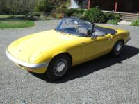 1964 Lotus Elan S-1. -Its a wonderful car that runs and