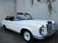 1964 Mercedes Benz 220SE Right Hand Drive Cabriolet