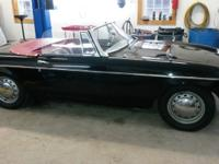 This is a beautiful 1964 MGB.  -This car is all