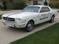 Genuine 1964 Indy 500 Pace car. Only 190 built- single