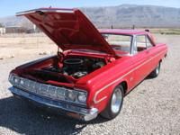 1964 plymouth belvedere two door hard top this is the