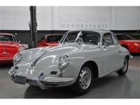 This 1964 Porsche 356 2dr C Coupe features a 4 cyl 4cyl