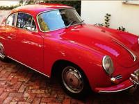 This is a classic Reutter Coupe 1964 Porsche 356C with