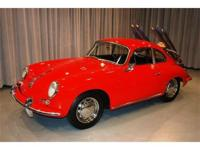 This 1964 Porsche 356C Sunroof Coupe is finished in