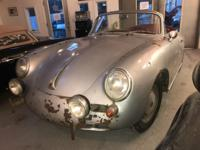 1964 Porsche 356c Cabriolet.  ONE OWNER (my father). He