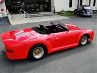 1964 359 PORSCHE SC ROADSTER WIDE BODY KIT CAR FROM