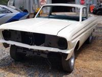 1964 Ranchero Deluxe - Factory V8 Rolling Chassis - NEW