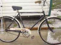 nice bike is old & rare look at the fenders like the