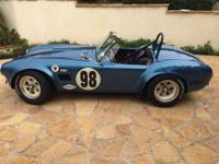 Year : 1964 Make : Shelby Model : Cobra Exterior Color