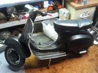 1964 Small Frame Vespa Scooter-$2500 Clean Title 95%