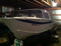 Its a 1964 Cheif Skylark Cabin Cruiser one of the fist