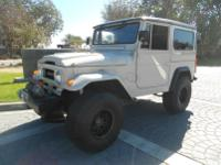 1964 Toyota Land Cruiser FJ40. -Finished in Factory