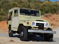 1964 Toyota Land Cruiser FJ40 Avocado Green.  For sale
