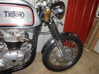 1964 TRITON Cafe Racer.A true Cafe Racer. Not your