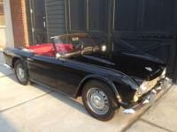 1964 Triumph TR4 (Titled as a 66) Chassis# CT35521L