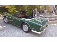 Year : 1964 Make : Triumph Model : TR4 Exterior Color :