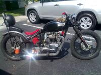 64 triumph tr6 650cc 4speed with '69 frame section+