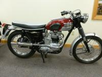 This is a matching numbers Triumph frame, engine, and