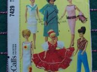 1964 Vintage original sewing pattern McCall's 7429.