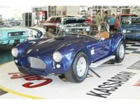 Factory Built Arntz A/C Cobra replica 427 V - 8 SPECIAL