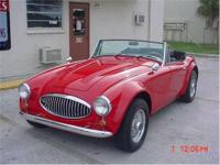 1965 Austin Healey Sebring 5000 replica. 5.0 Ford V8,