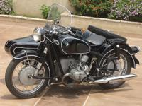 Very nice original classic 600cc BMW opposed twin with