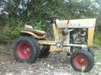 I have a bolens 853 lawntractor runs great i drive it