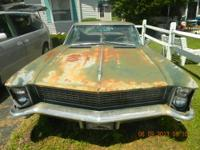 For Sale a 1965 Buick Riveria with the 401 Nailhead