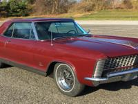 1965 Buick Riviera Sport Coupe, totally original car,
