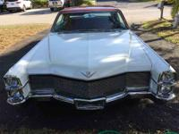 1965 custom Cadillac Deville. Low rider, clean body,