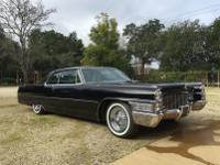 1965 Cadillac Coupe DeVille.  -Triple Black Paint done