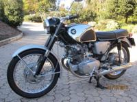 I have 2 1965 Honda CB77 Super Hawks and must sell one.