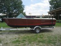 History: Boat was bought in 1965 from the Tippecanoe