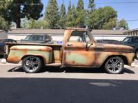 Hi I'm selling my 1965 Chevy C-10 faux patina truck.