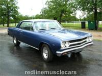 1965 Chevelle Malibu SS 396 Auto Dark Blue Crisp and