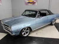 Stk#063 1965 Chevrolet Chevelle SS This convertible is