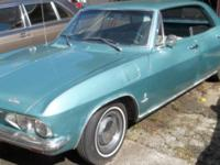 Extremely good 1965 Chevy Corvair 4 door with a smooth
