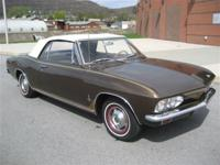 This 1965 Chevrolet Corvair 2dr Monza Convertible