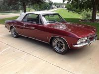 -Enjoy fun in the sun as your classic Corvair