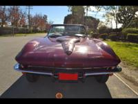 1965 Corvette Roadster 1 of only 2,157 Ever