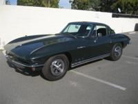 1965 Corvette Coupe, Fuel Injected Frame off restored.
